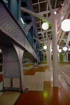 Free Lights On The Bridge. Stock Photos - 7809593