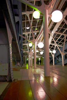 Free Lights On The Bridge-1. Stock Image - 7809621
