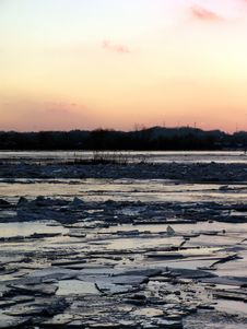 Free Ice Jam Royalty Free Stock Image - 7809746