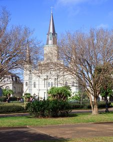 St. Louis Cathedral Stock Photo