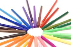 Free Drawing Stuff Royalty Free Stock Photo - 7809875