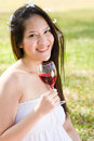 Free Beautiful Asian Girl Picnic In The Park Stock Photo - 7811880