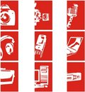 Free Electronic Icons 2 Stock Photos - 7814483