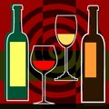 Free Red And White Wine Royalty Free Stock Photography - 7817687