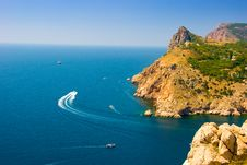 Sea Coastline Royalty Free Stock Photography