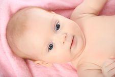 Free Newborn Girl Stock Photo - 7810800