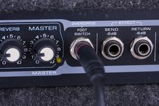 Free A Guitar Amplifier Royalty Free Stock Photo - 7811405