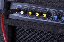 Free A Guitar Amplifier Stock Photos - 7811473
