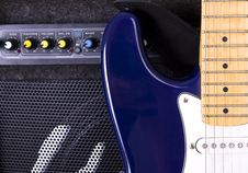 Free A Guitar Amplifier Royalty Free Stock Image - 7811476
