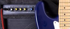 Free A Guitar Amplifier Stock Images - 7811484