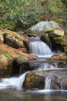 Free Autumn Waterfall Royalty Free Stock Image - 7811616