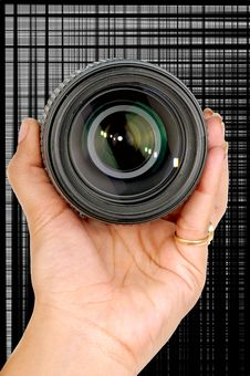 Free Camera Lense Royalty Free Stock Photo - 7811755