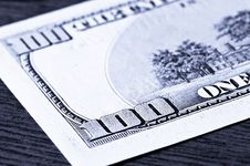 Close-up 100 Dollars Stock Photos