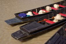 Free Wooden Boats In Thailand Royalty Free Stock Photography - 7813327
