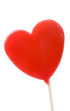 Free Valentine Lollypop Stock Image - 7813771