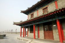 Free Chinese Ancient Building Royalty Free Stock Photography - 7814137