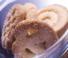 Free Danish Butter Cookies Royalty Free Stock Photos - 7814168