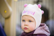 Free Portrait Of The Child Of 2 Years In The Street Royalty Free Stock Photo - 7814865