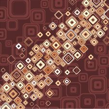 Free Mosaic Border. Stock Image - 7815131