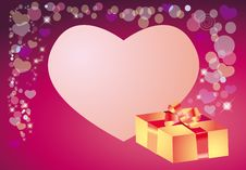 Free Background To The Day Of Valentine Stock Image - 7815511