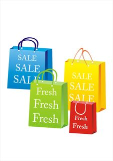Free Shopping Bags Stock Photo - 7815830