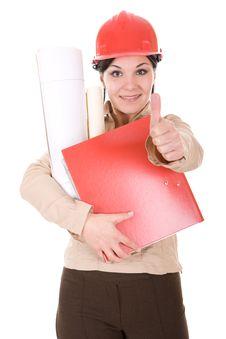 Free Female Architect Stock Images - 7816164