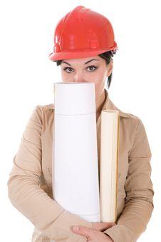 Free Female Architect Stock Images - 7816184