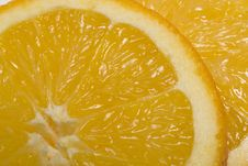Free Orange Slice Royalty Free Stock Photo - 7816435