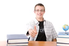 Free Learning Teen Stock Image - 7816511