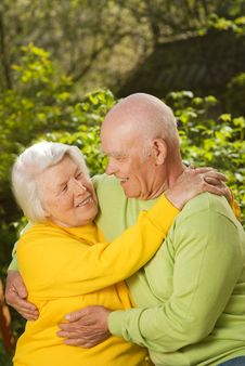 Free Senior Couple In Love Stock Images - 7817374