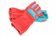 Free Red Gloves Royalty Free Stock Images - 7817969