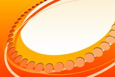 Free Abstract Orange Royalty Free Stock Photography - 7818507