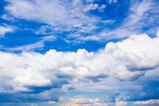 Free Summer Clouds Stock Photos - 7819493