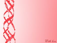 St.Valentine S Day Card Royalty Free Stock Photos