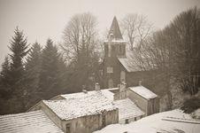 Free Winter Village Royalty Free Stock Photos - 7819618