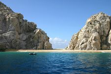 Free Lover S Beach In Cabo San Lucas Stock Images - 7819674