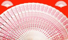 Free Chinese Bamboo Fan Royalty Free Stock Photography - 7819757