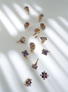 Free Golden Jewelry Stock Photos - 7819863
