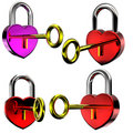 Free Padlock With A Key Royalty Free Stock Photo - 7822725