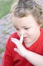 Free Picking Nose Royalty Free Stock Photos - 7823508