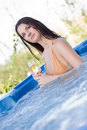 Free Young Girl With Champagne Glass Royalty Free Stock Images - 7823619