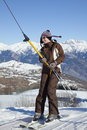 Free Skier Stock Photography - 7828322