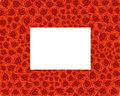 Free A Frame Of Red Roses Stock Images - 7828784