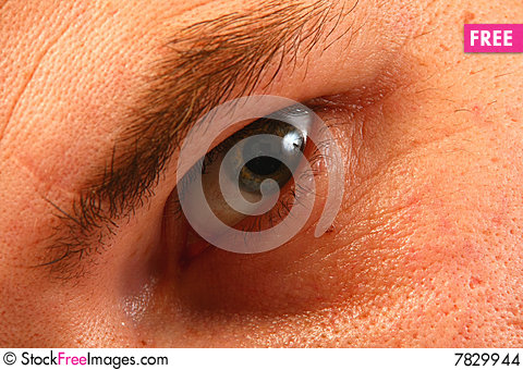 Free Eye Of An Adult Stock Images - 7829944