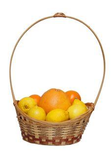 Basket Royalty Free Stock Photo