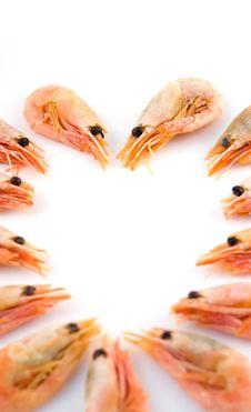 Free Shrimps Heart Royalty Free Stock Photography - 7820587