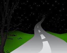 Free Night Road Stock Photos - 7820763