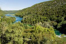 Free River Krka Stock Photography - 7821922