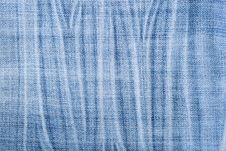 Free Blue Stripped Jeans Texture Stock Image - 7821961