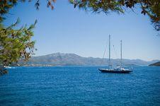 Free Mediterranean View 1 Royalty Free Stock Photos - 7822018